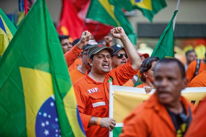 Brazil Oil Workers Strike