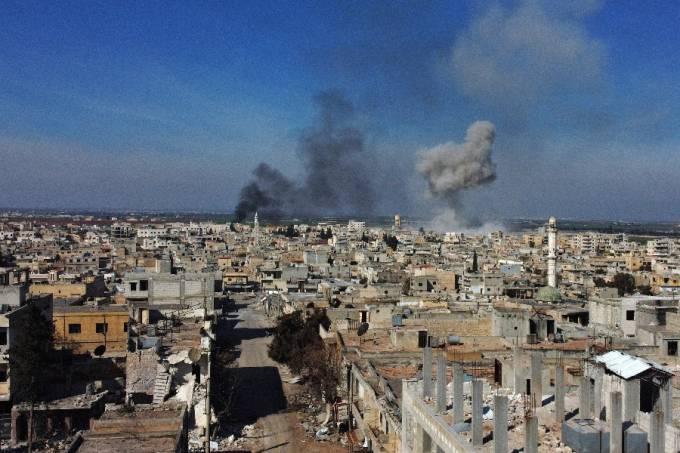 Ataques em Iblib, na Síria