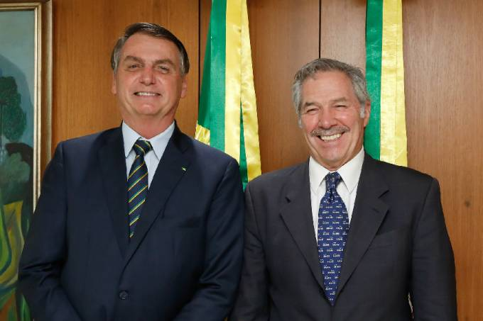 Bolsonaro e Felipe Solá