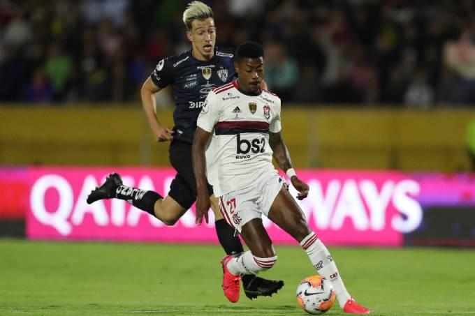 Bruno Henrique Flamengo x Independiente del Valle