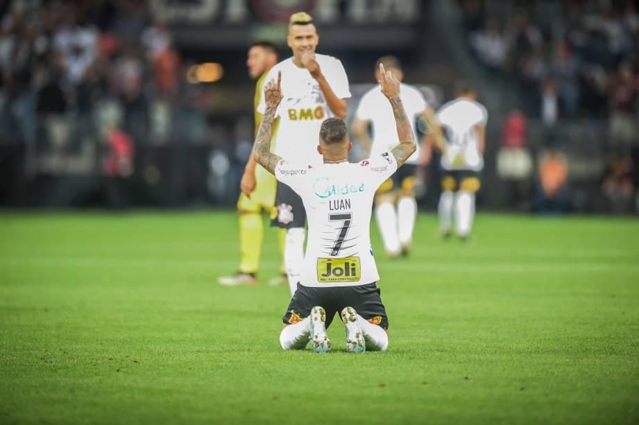 Corinthians x Guarani-PAR pela Libertadores 2020, na Arena Corinthians