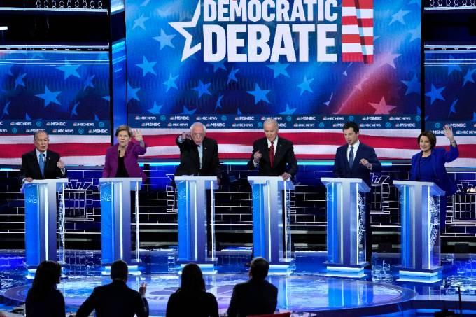 Debate partido Democrata (1)
