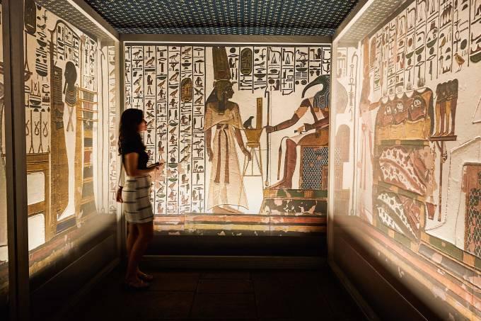 Rio, 01/02/20Exposição Egito Antigo no CCBB Rio.Foto: Selmy Yassuda