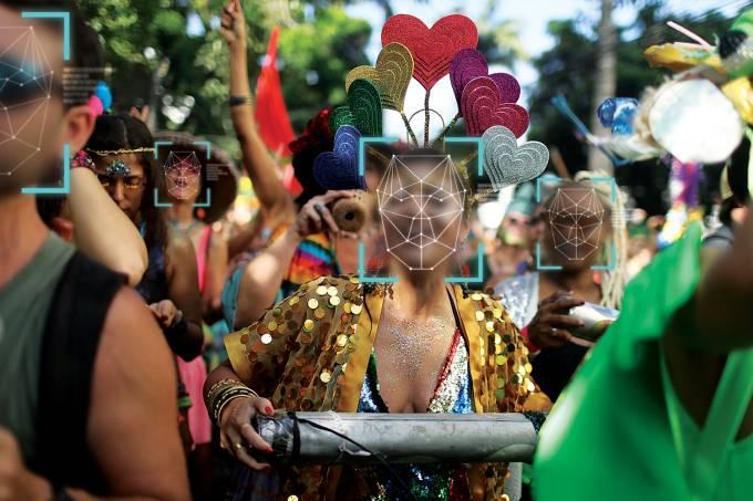 """Annual block party """"Ceu na Terra"""" in Rio de Janeiro"""