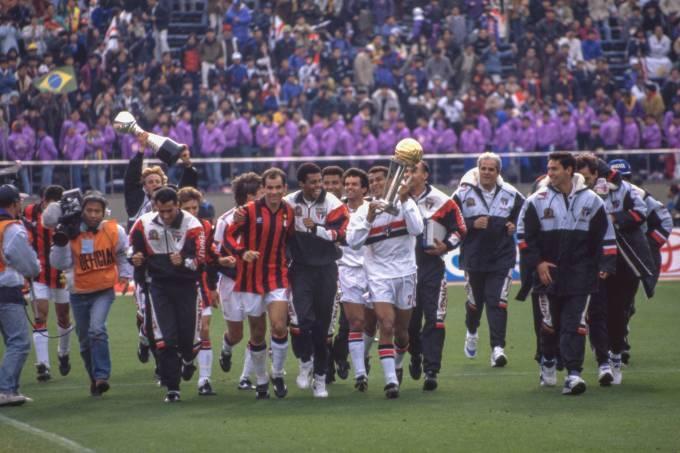São Paulo, em 1993, foi o último clube brasileiro a vencer a Copa Intercontinental