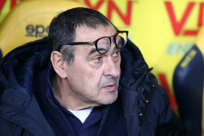 Maurizio Sarri, técnico da Juventus