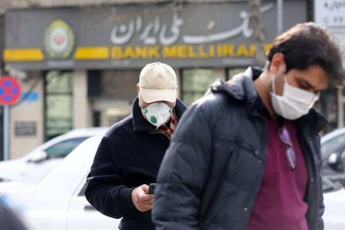 Coronavirus precautions in Iran's Tehran
