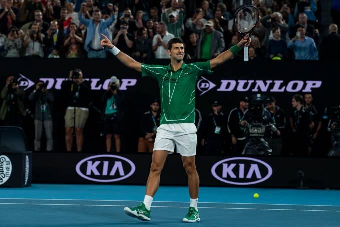 Djokovic é campeão do Australian Open