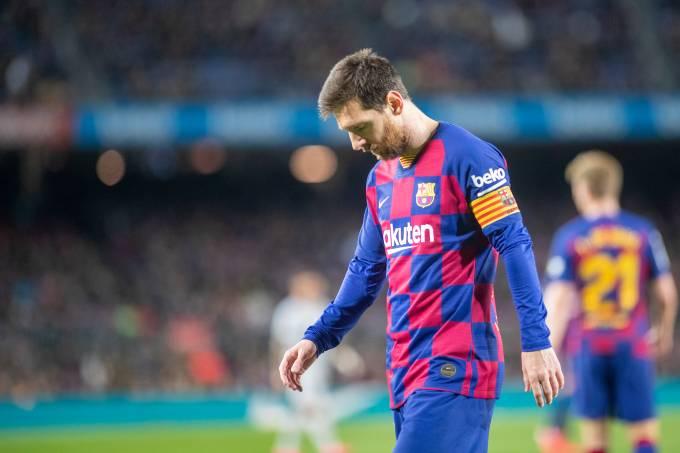 Barcelona V Levante – Messi