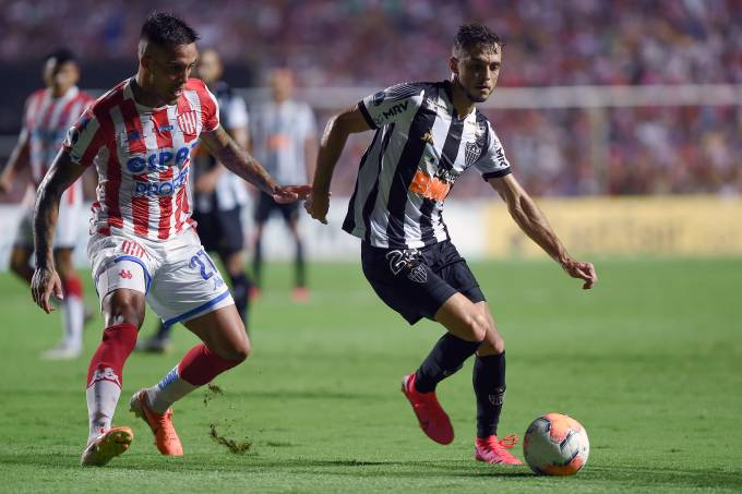 Unión Santa Fé x Atlético Mineiro pela Sul-Americana