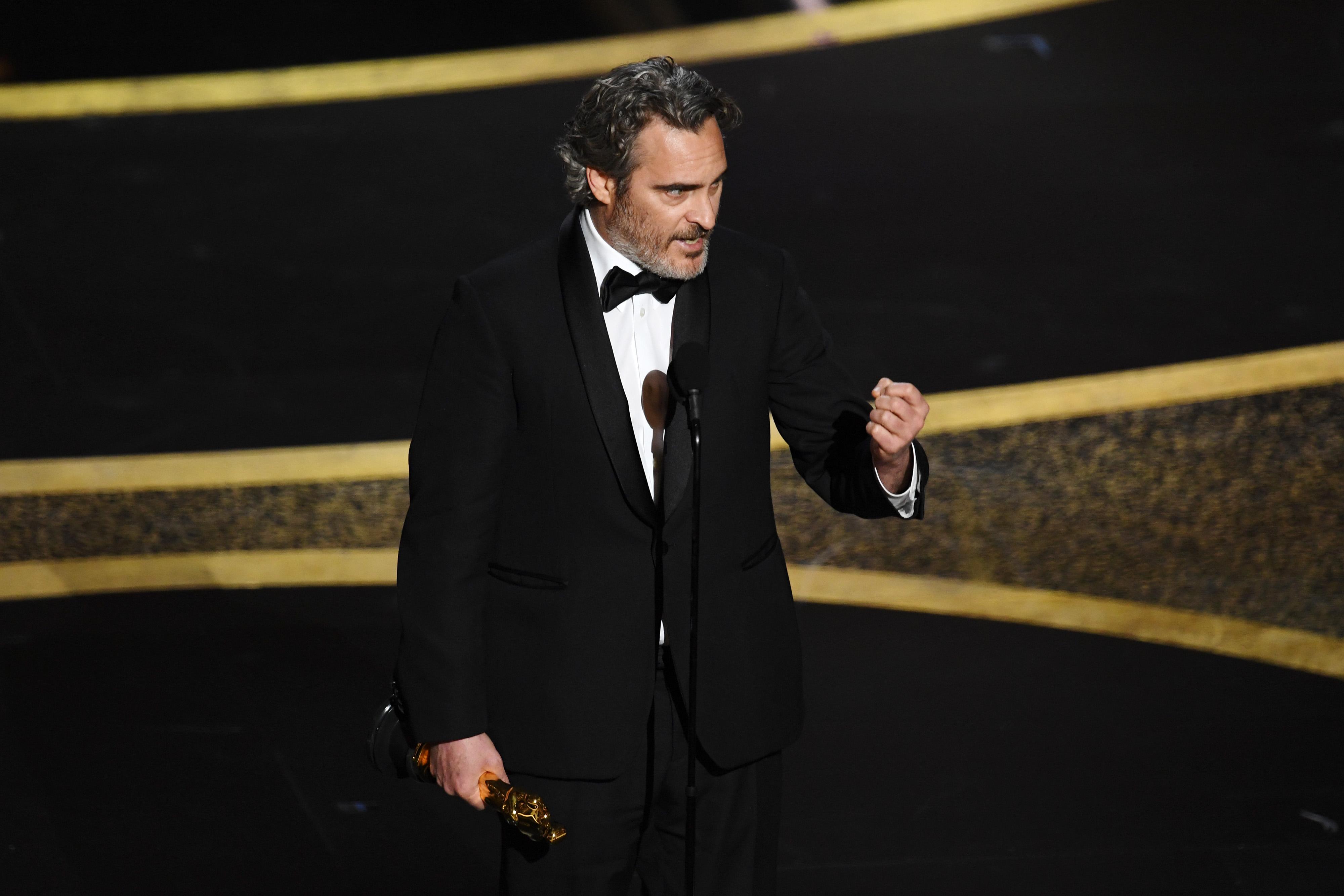 Joaquin Phoenix vence o Oscar de melhor ator por 'Coringa' (09/02/2020)