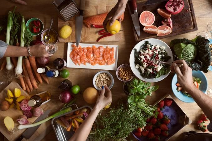 alimentação saudável – dieta mediterrânea