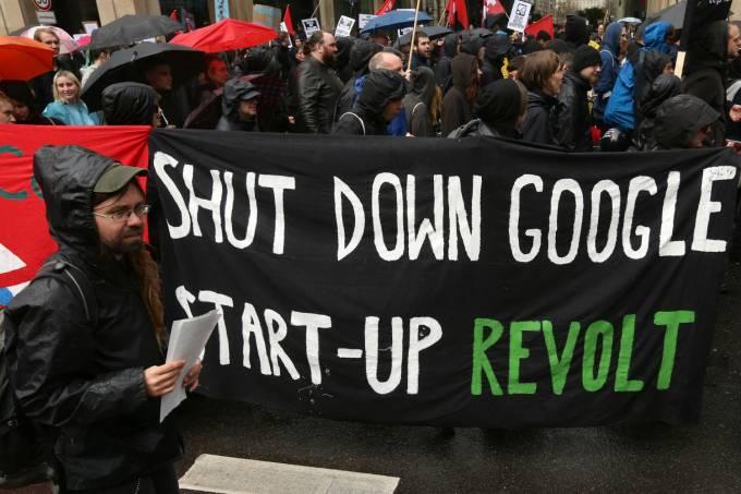 Google Protestos