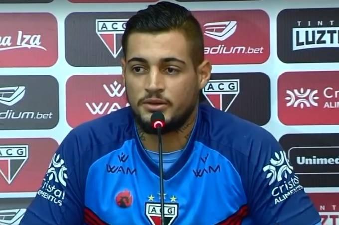 Goleiro Jean foi apresentado no Atlético Goianiense