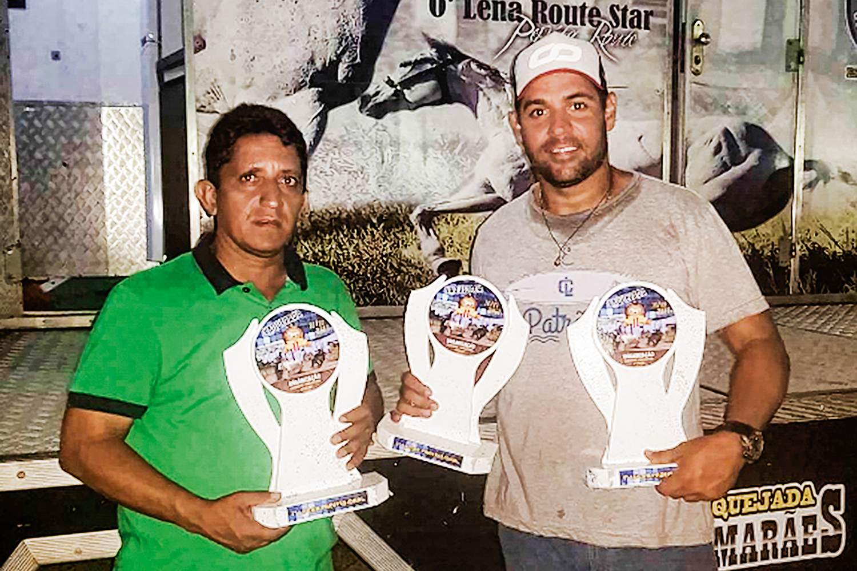 AMNEÉSIA -Zezinho, o motorista, e Leandro, o fazendeiro: amigos do ex-capitão