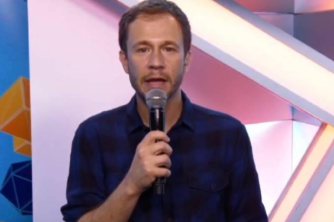 Tiago Leifert, apresentador do BBB 20