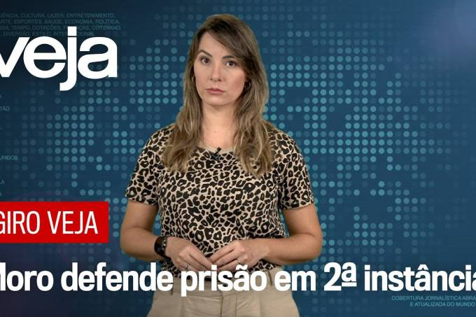 Na Câmara, o ministro Sérgio Moro defende prisão em segunda instância