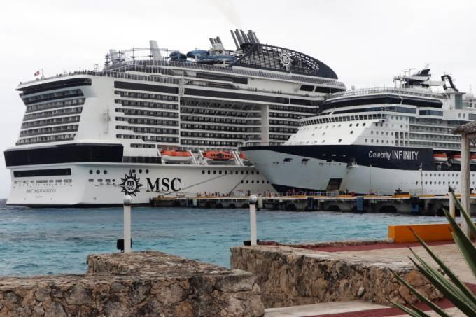 Navio costa do México