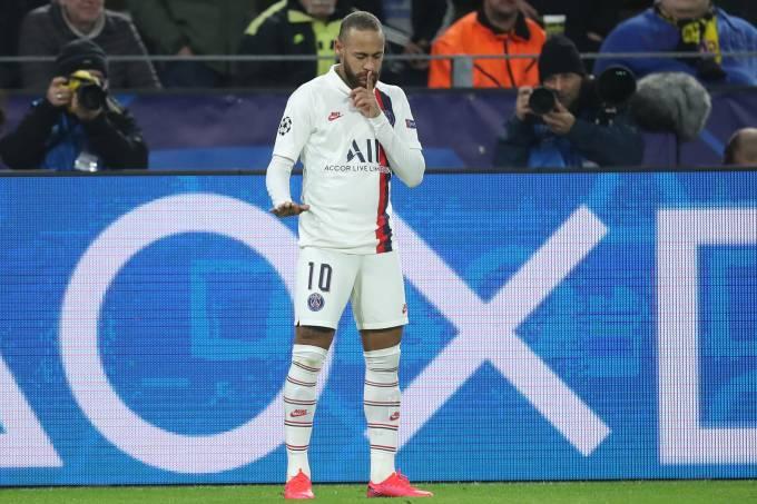 Neymar PSG Paris Saint-Germain Liga dos Campeões