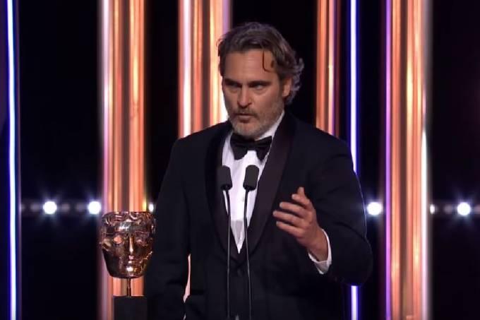 Joaquin Phoenix no Bafta
