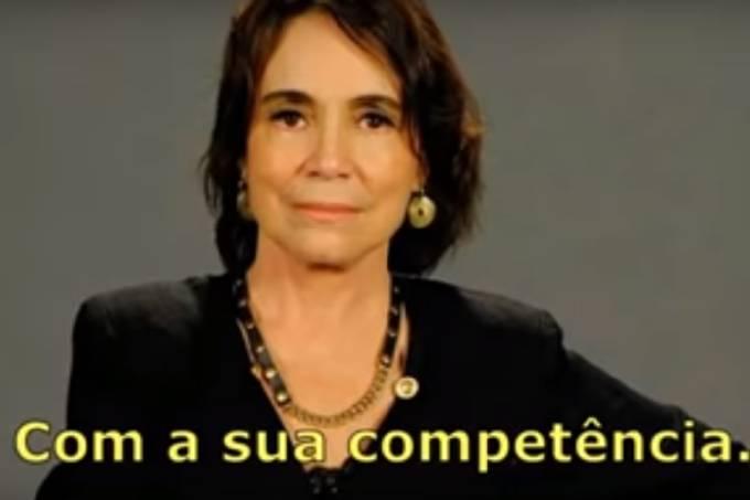 """Regina Duarte em """"Dona, ela sim"""""""