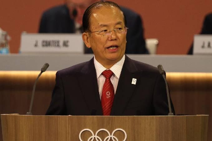 Toshiro Muto, diretor-geral do comitê organizador dos Jogos Olímpicos e Paralímpicos de Tóquio-2020