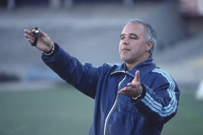 Espinosa, técnico do Grêmio. FOTO_ ADOLFO GERCHMANN