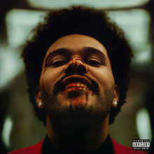 Capa do disco 'After Hours' do cantor canadense The Weeknd