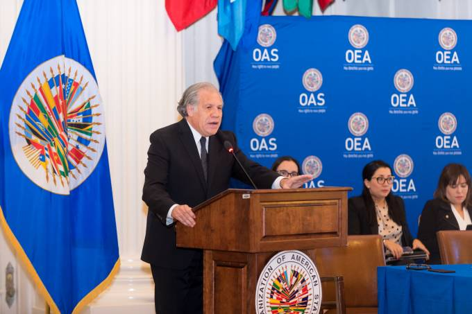 Candidates for Secretary General and Assistant Secretary General of the OAS Dialogue with Civil Society