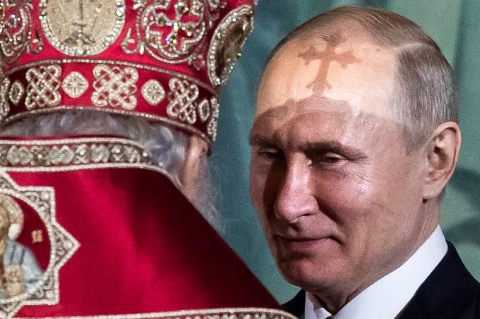 Vladimir Putin Igreja Ortodoxa Russa