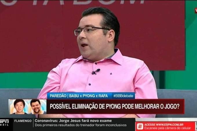 Programa BB Debate, da ESPN Brasil, debateu paredão do BBB20