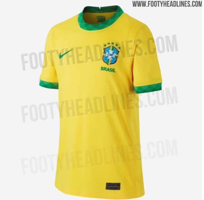 Camisa da seleção brasileira para 2020