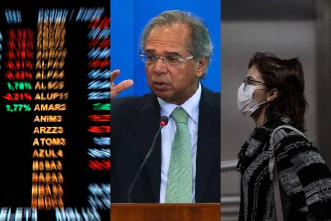 Bolsa de valores – Paulo Guedes – Coronavírus