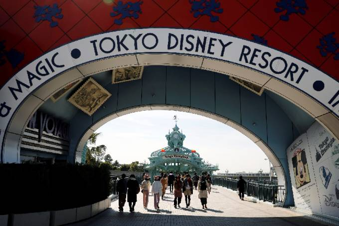Disney em Tóquio