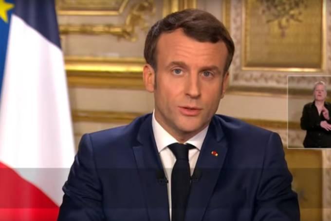 Emmanuel Macron – Coronavírus