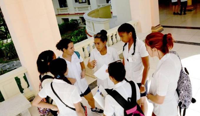 Cuba estudantes