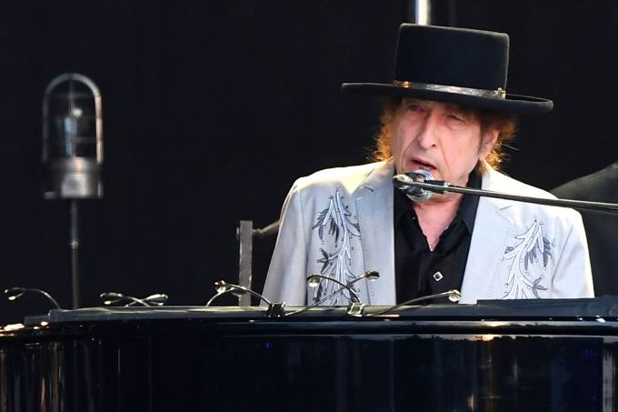 Bob Dylan Performa at Hyde Park – London