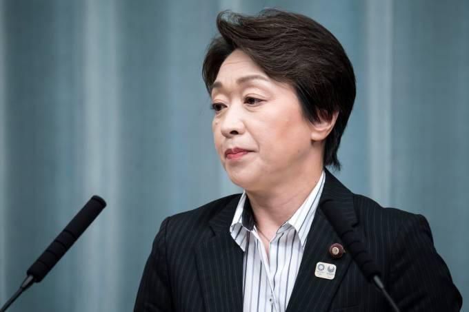 Seiko Hashimoto, ministra da Tóquio-2020