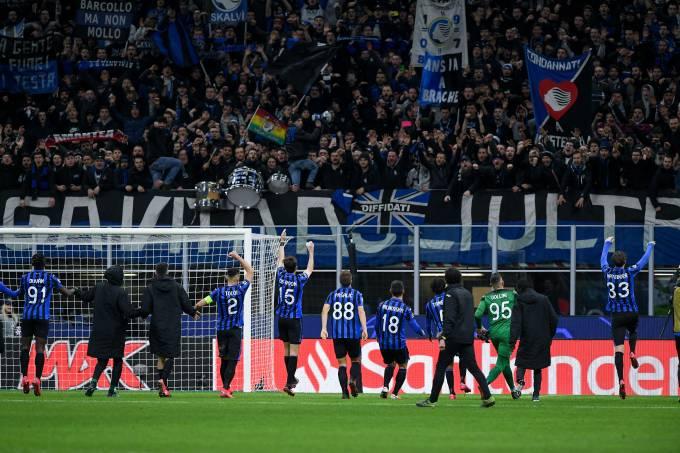 Atalanta x Valencia em Milão