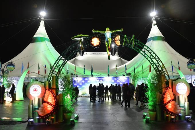 """""""Totem"""" Premiere By Cirque Du Soleil"""