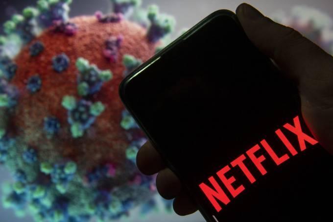A Netflix britânica estuda como contornar cenário de crise causado pela Covid-19