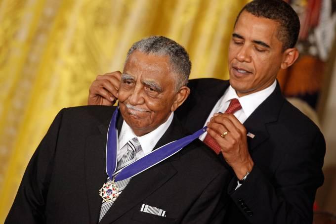 Lowery e Obama
