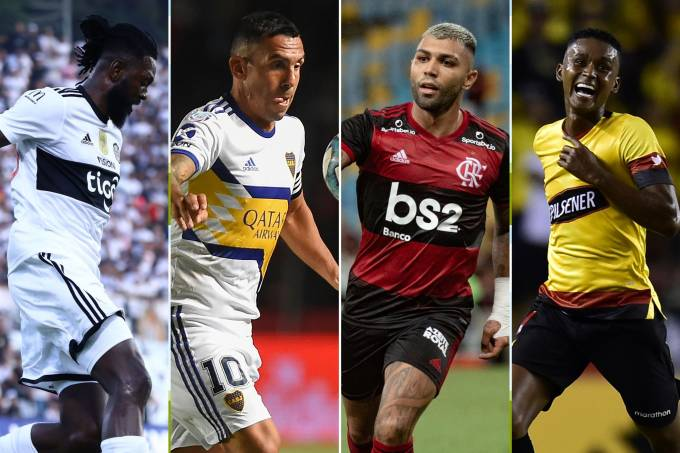 Montagem abre Libertadores