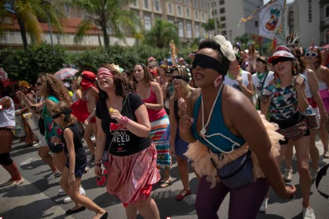 Mulheres no carnaval do Rio de Janeiro