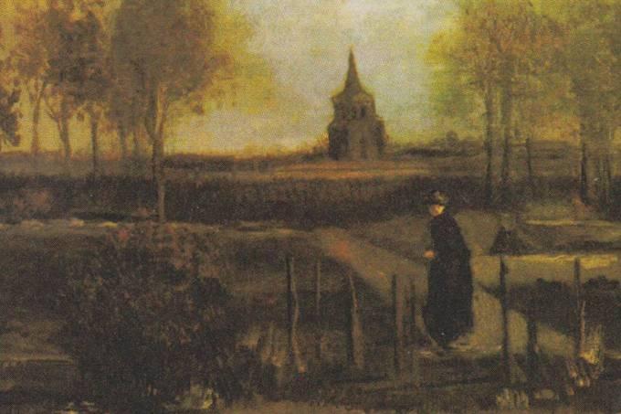 Spring Garden Van Gogh