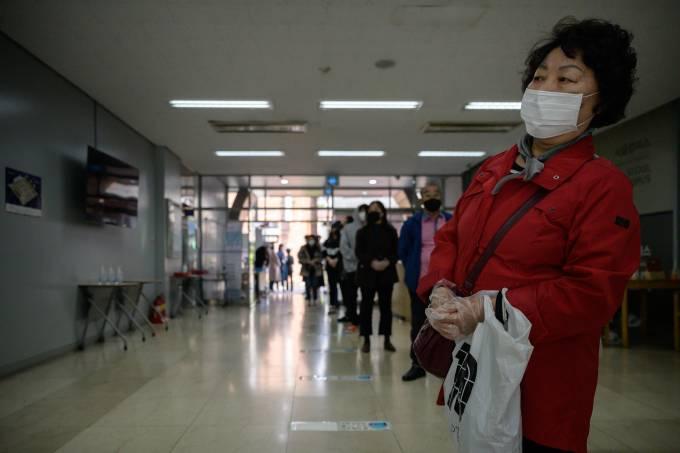 Coreia do Sul eleições
