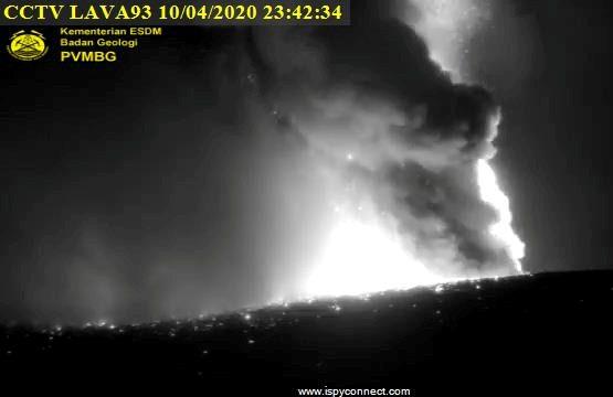 Anak Krakatau entra em erupção
