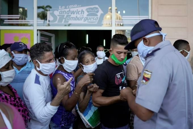 FILE PHOTO: Coronavirus disease (COVID-19) outbreak, in Havana