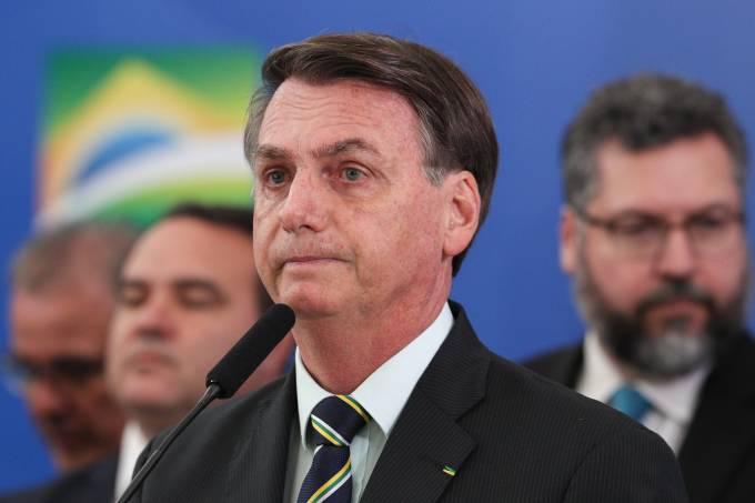 24/04/2020 Pronunciamento do Presidente da República, Jair Bols