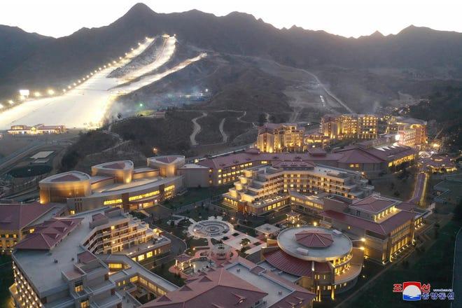 Resort de ski construído por Kim Jong-un na Coreia do Norte